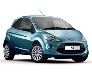 ford ka car hire
