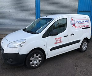 ford connect van hire